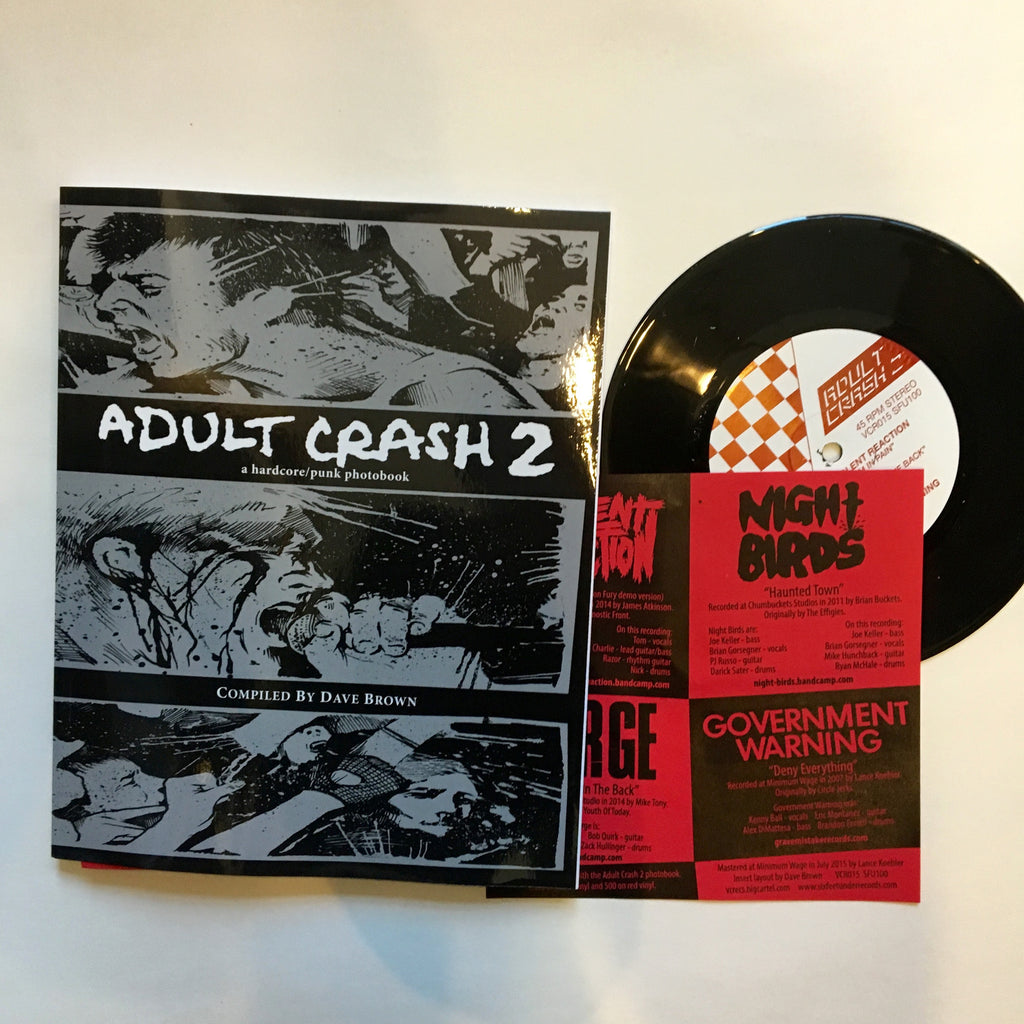 Adult Crash 2 Photobook and 7""