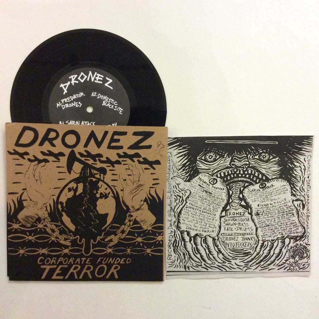 Dronez: Corporate Funded Terror 7""