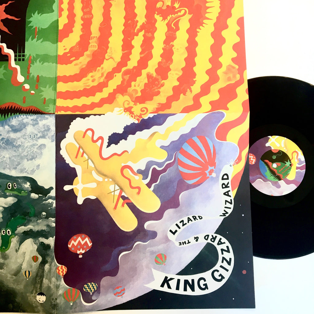 "King Gizzard and the Lizard Wizard: Quarters 12"" (new)"