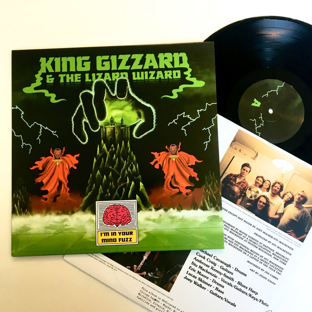 "King Gizzard and the Lizard Wizard: I'm Your Mind Fuzz 12"" (new)"