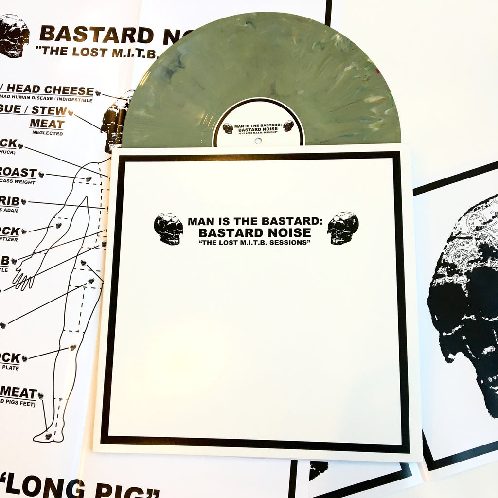 "Man Is the Bastard / Bastard Noise: The Lost MITB Sessions 12"" (new)"