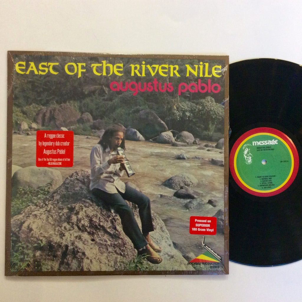 Augustus Pablo: East of the River Nile 12""