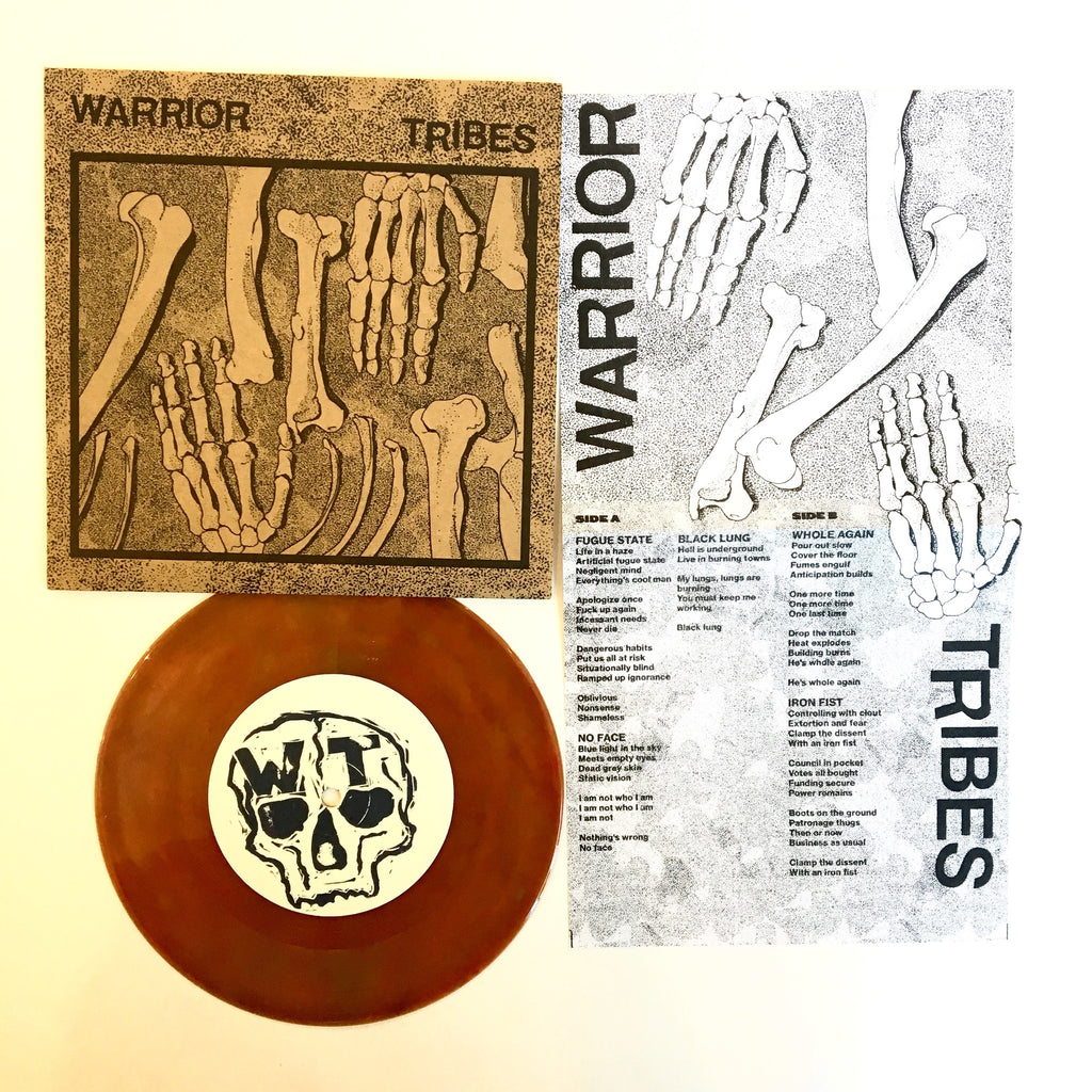 Warrior Tribes: S/T 7""