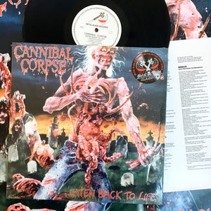 Cannibal Corpse: Eaten Back To Life 12""
