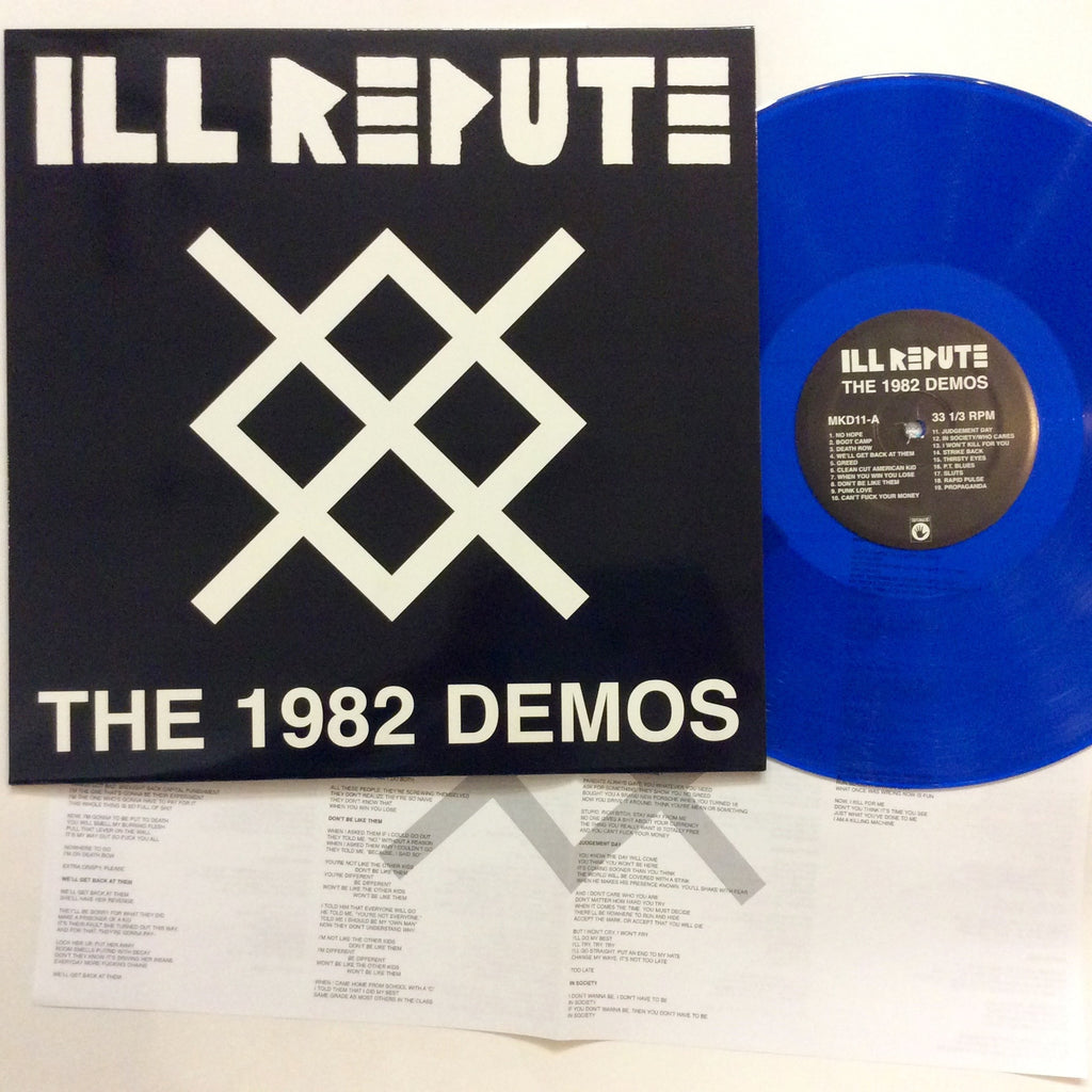 Ill Repute: The 1982 Demos 12""