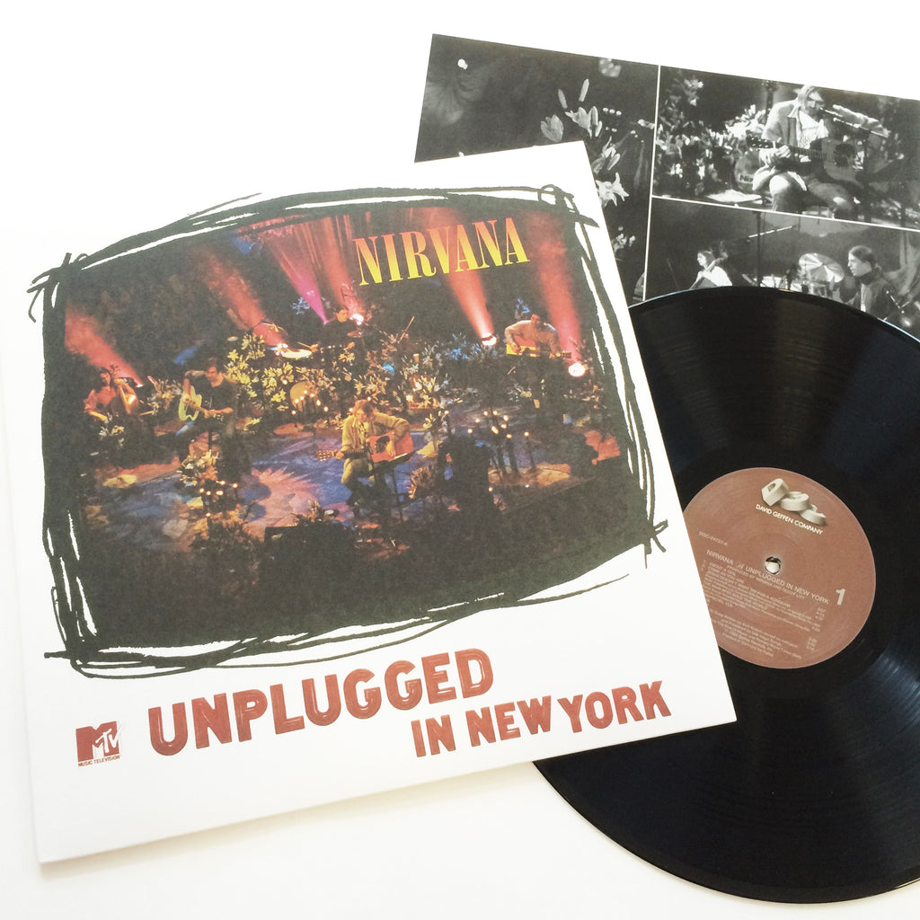 Nirvana: Unplugged in New York 12""