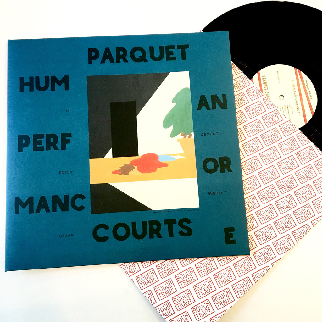 "Parquet Courts: Human Performance 12"" (new)"