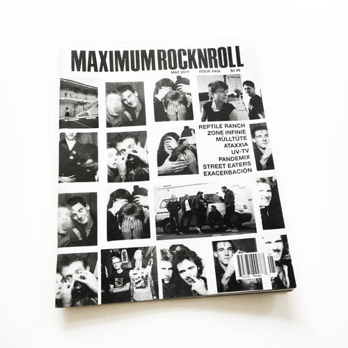 Maximum Rocknroll #408 (May 2017)