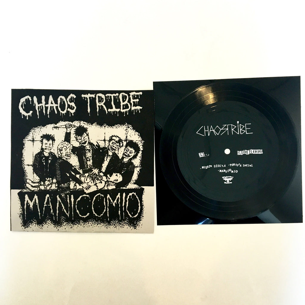 "Chaos Tribe: Manicomio 7"" flexi (new)"