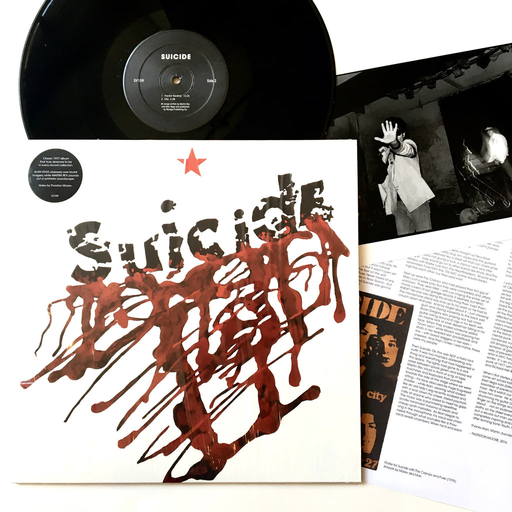"Suicide: S/T 12"" (new)"