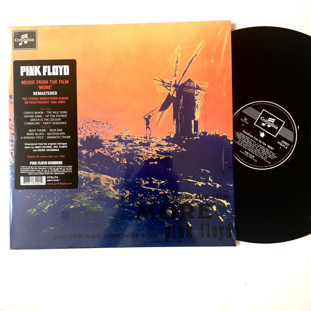 "Pink Floyd: More Soundtrack 12"" (new)"