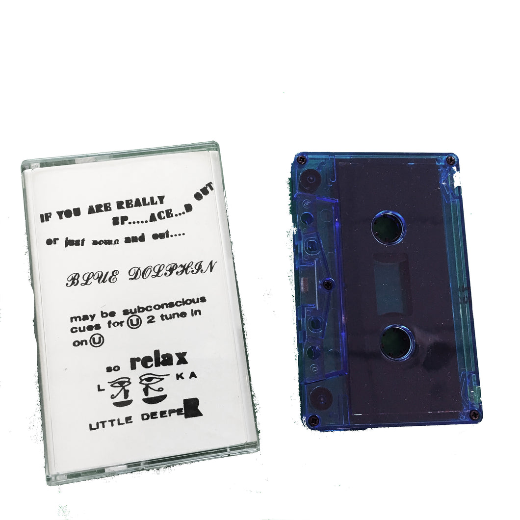 Blue Dolphin: 2 New Songs cassette