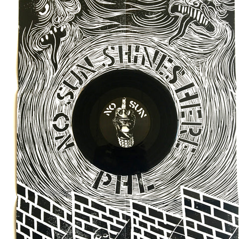 "Various: No Sun Shines Here 7"" (new)"