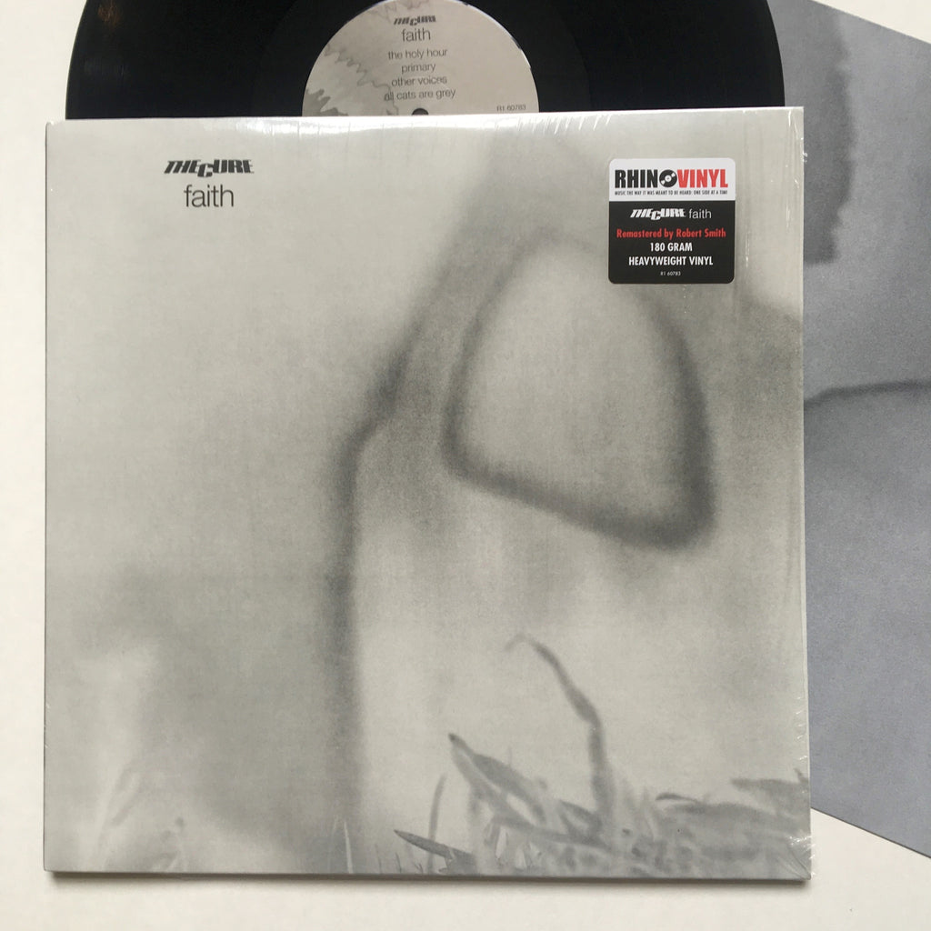 "The Cure: Faith 12"" (new)"