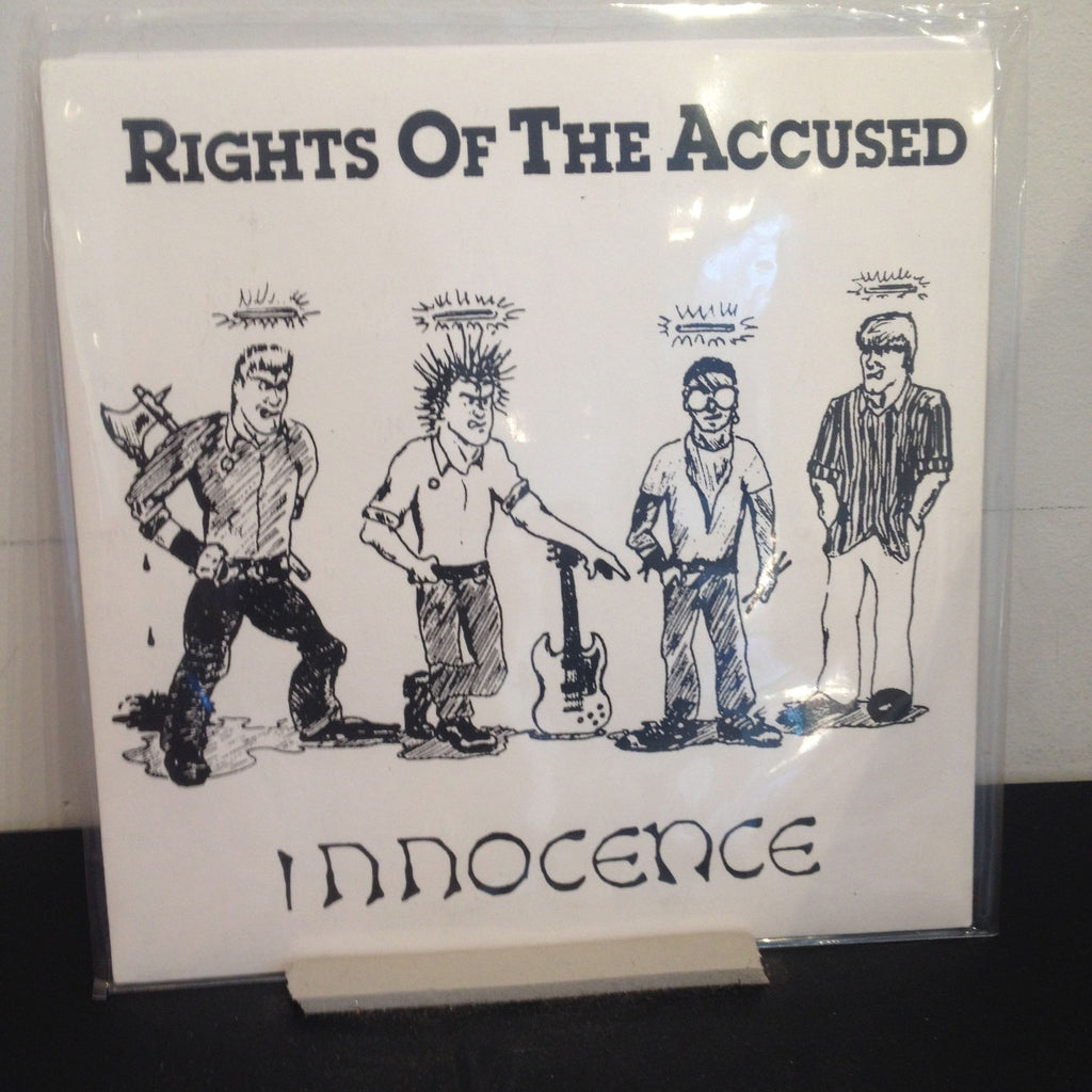 "Rights of the Accused: Innocence 7"" (new)"