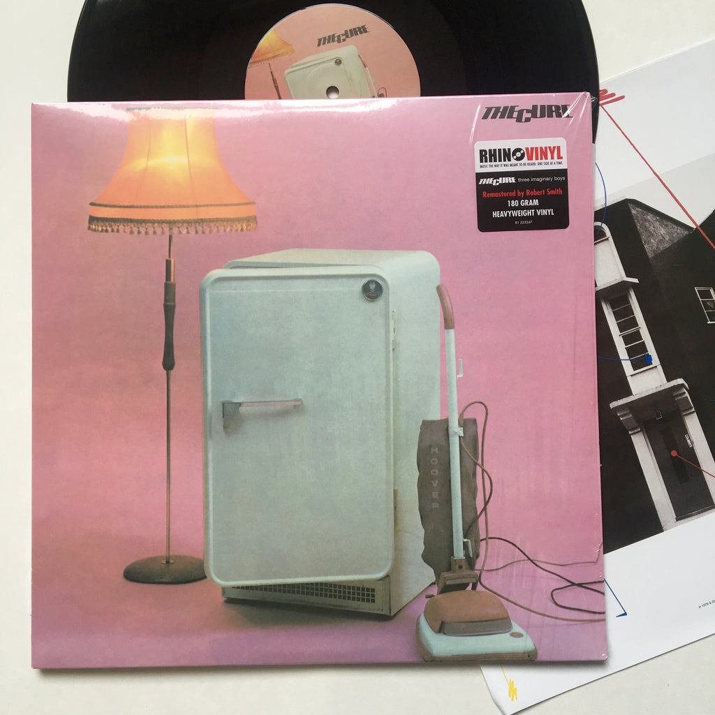 "The Cure: Three Imaginary Boys 12"" (new)"