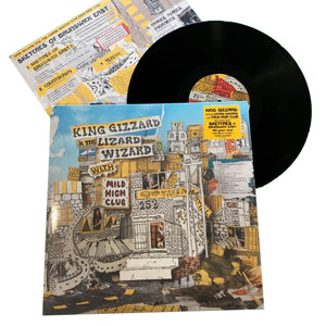 "King Gizzard & the Lizard Wizard: Sketches of Brunswick 12"" (new)"