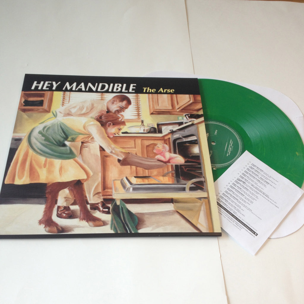 Hey Mandible: The Arse 12""