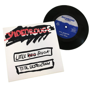 "Video Rouge: Little Red Book / Total Destruction 7"" (dead stock)"