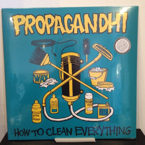 Propagandhi: How to Clean Everything 12""