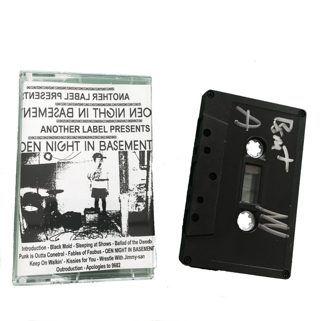 Neo Neos: Oen Night in Basement cassette