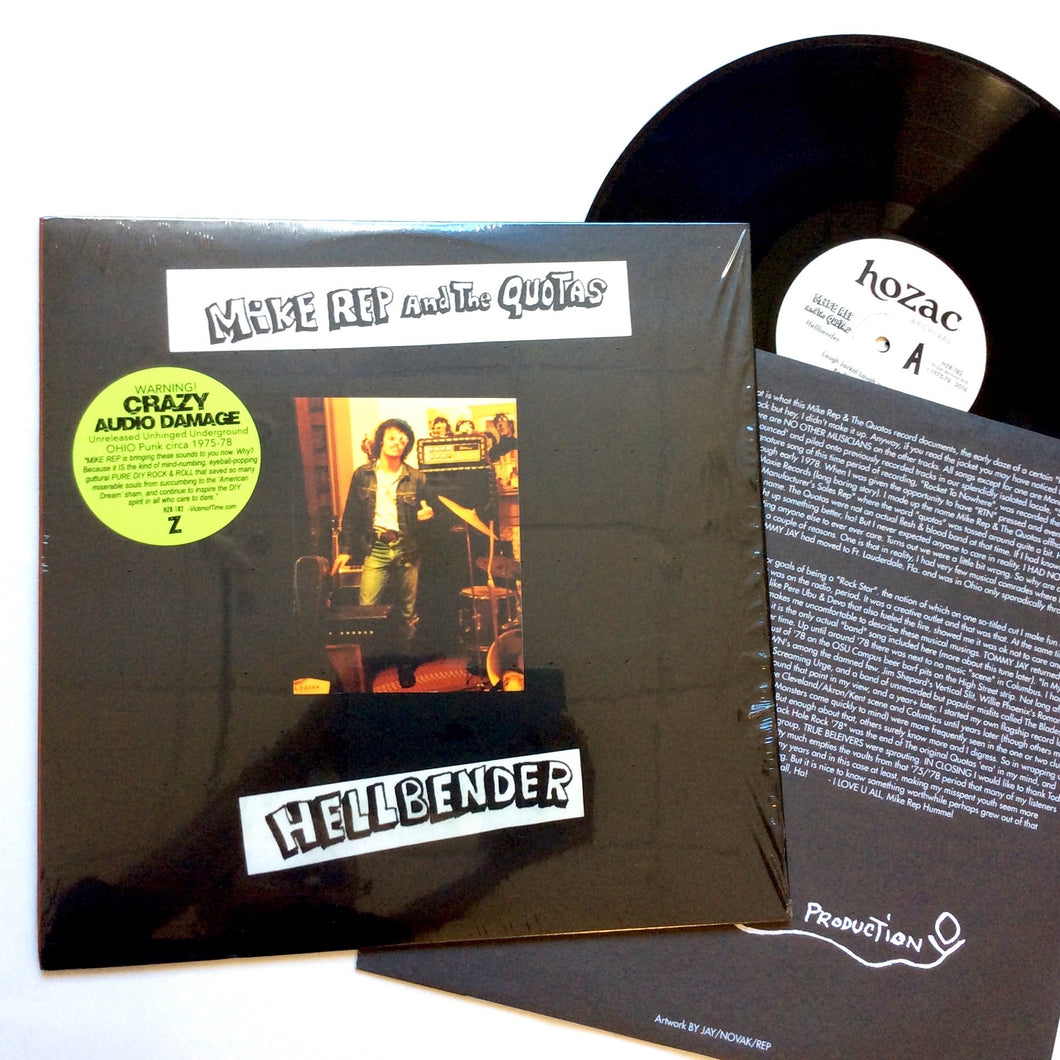Mike Rep and the Quotas: Hellbender 1975-78 12