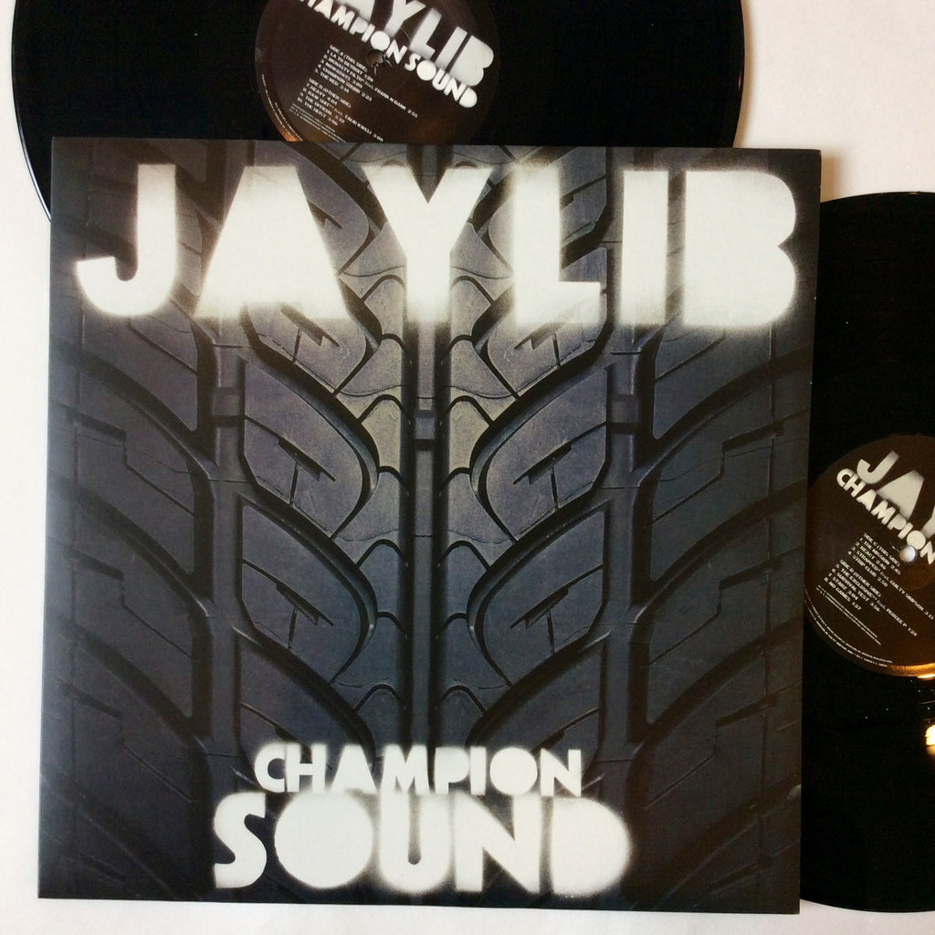 "Jaylib (J Dill and Madlib): Champion Sound 12"" (new)"
