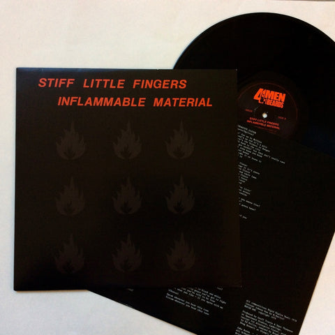 Stiff Little Fingers: Inflammable Materical 12""