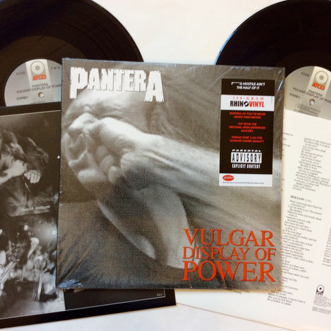 "Pantera: Vulgar Display of Power 12"" (new)"