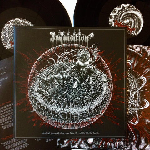 "Inquisition: Bloodshed Across the Empyrean Altar... 12"" (new)"
