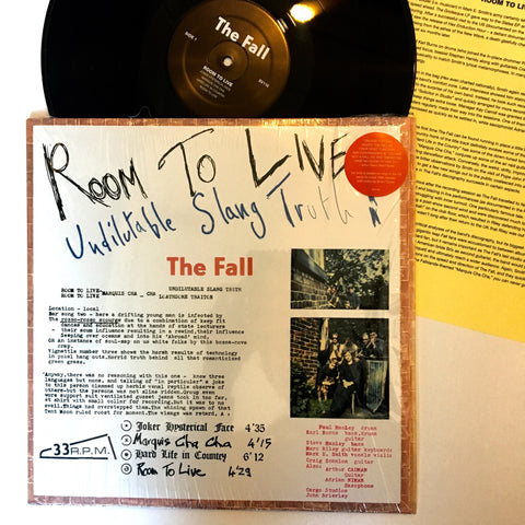 "The Fall: Room to Live 12"" (new)"