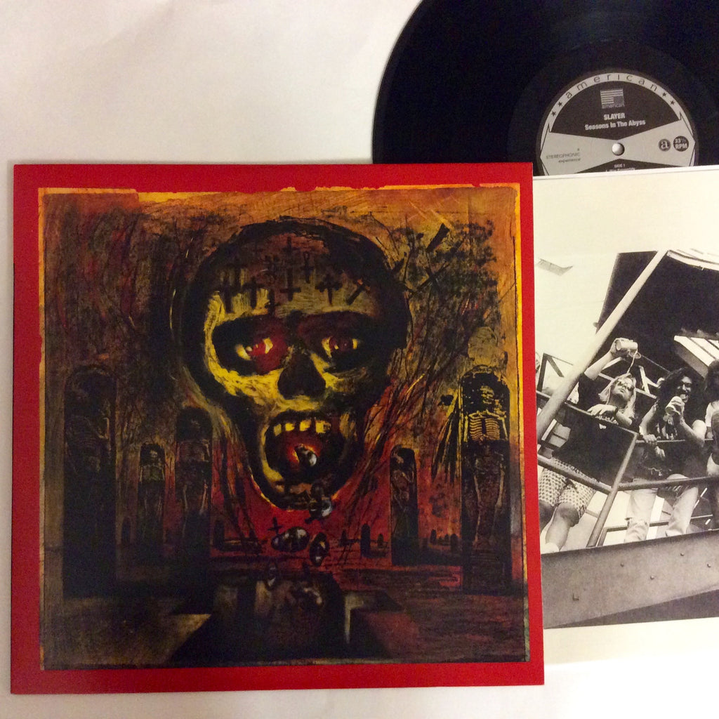 Slayer: Seasons in the Abyss 12""