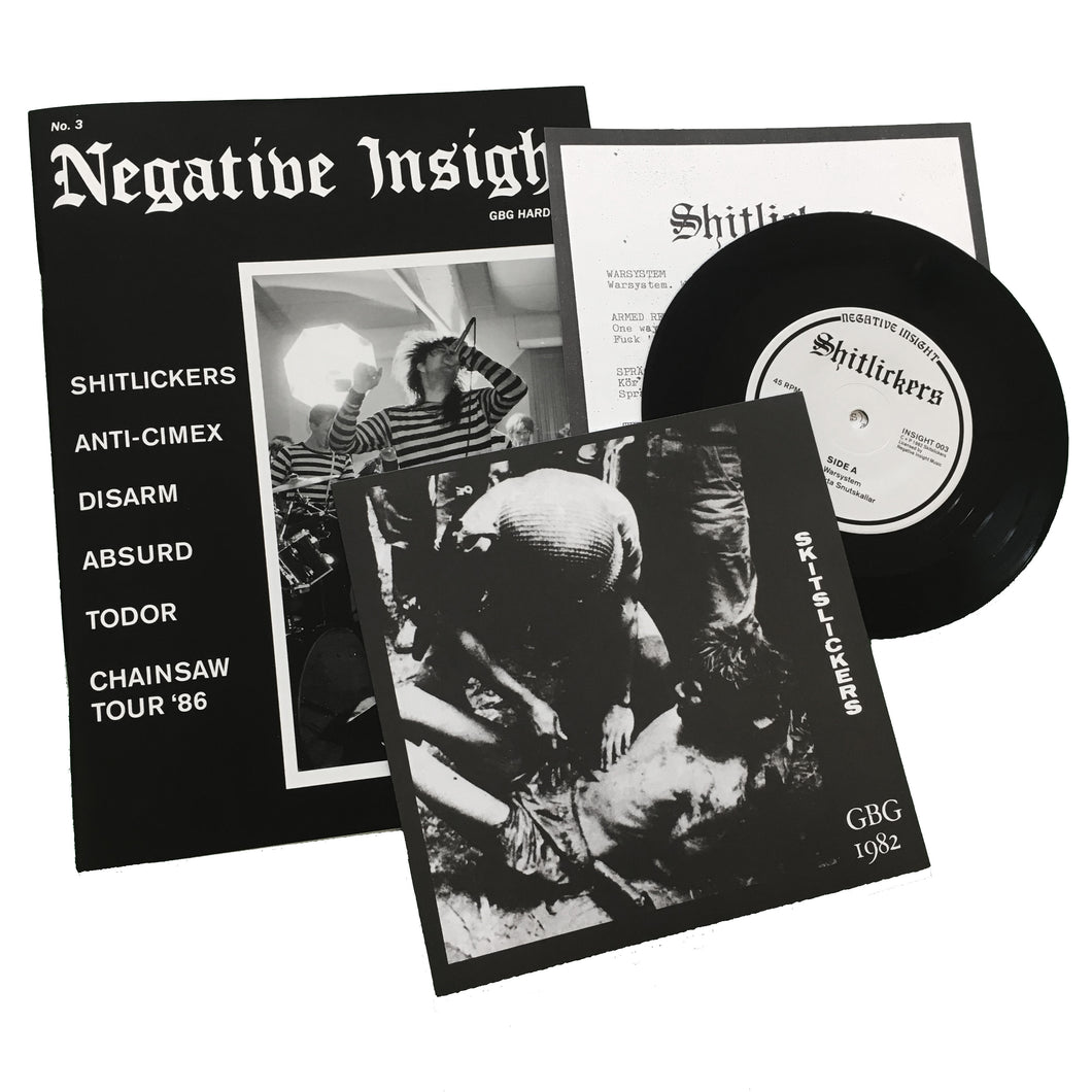 Negative Insight #3 w/ Shitlickers 7