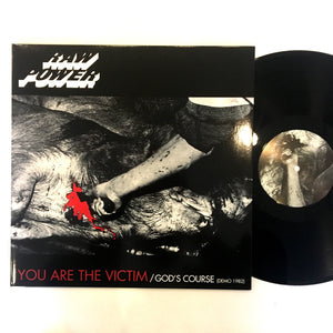 Raw Power: You Are the Victim 12""