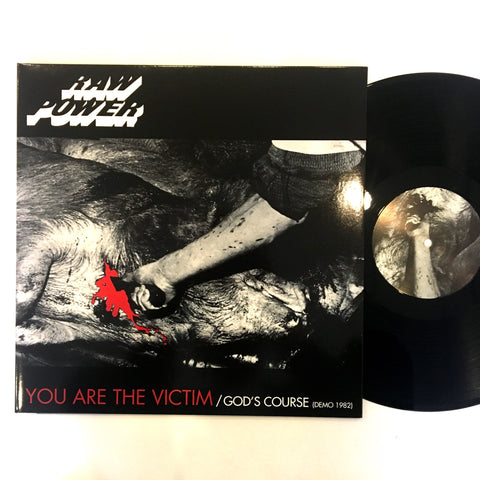 "Raw Power: You Are the Victim 12"" (new)"