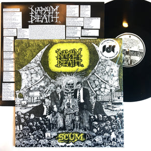 Napalm Death: Scum 12""
