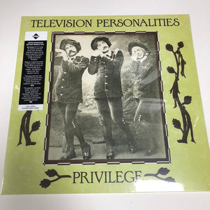 Television Personalities: Privilege 12""