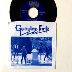 "Genuine Parts: Never Slow Down 7"" (new)"