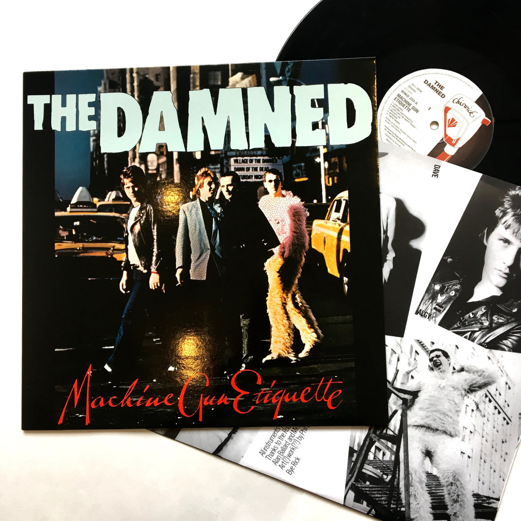 The Damned: Machine Gun Etiquette 12