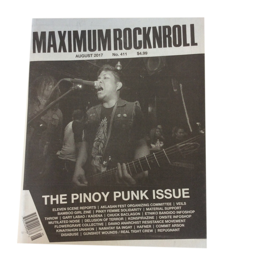 Maximum Rock N Roll: Issue 411 August 2017