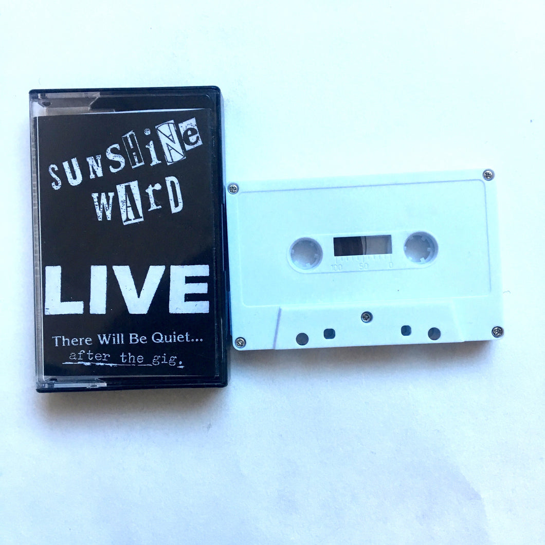 Sunshine Ward: Summer 2016 tour cassette
