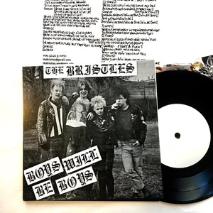 "Bristles: Boys Will Be Boys 7"" (new)"