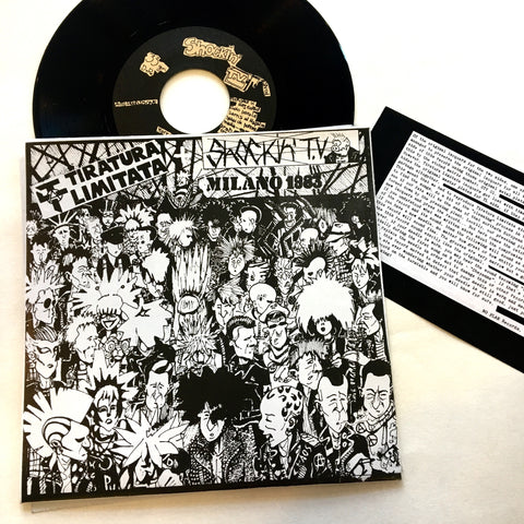 "Shockin' TV / Tiratura Limitata: Split 7"" (new)"