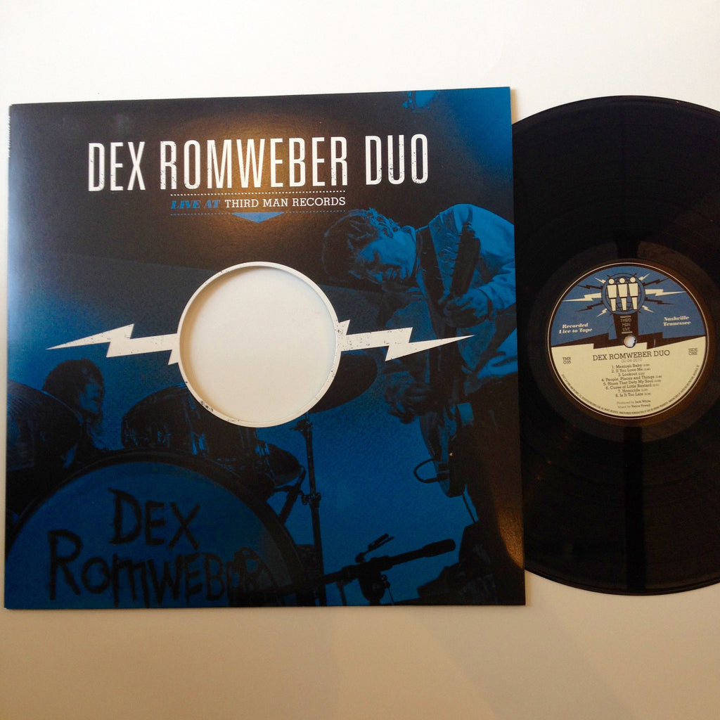 Dex Romweber Duo: Third Man Live 12""