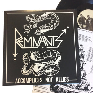 "Remnants: Accomplices Not Allies 12"" (new)"