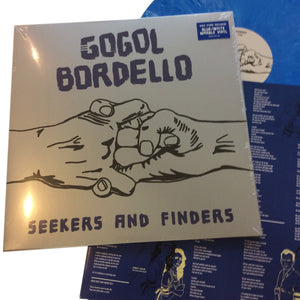 "Gogol Bordello: Seekers and Finders 12"" (new)"