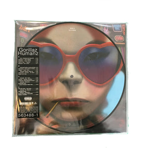 "Gorillaz: Humans 2x12"" picture disc (Black Friday 2017 exclusive)"