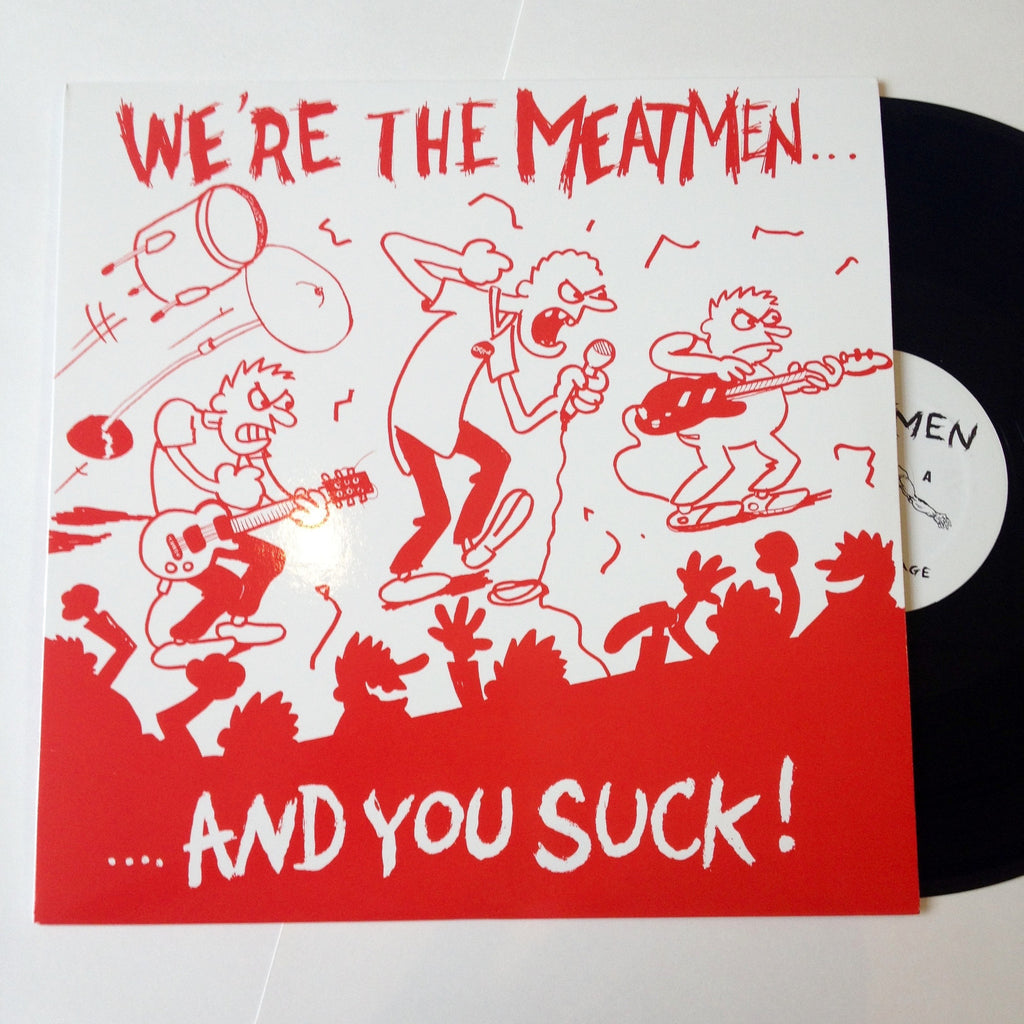 The Meatmen: We're The Meatmen 12""