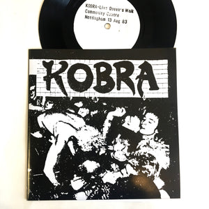 Kobra: Live At Queens Walk Centre 7""