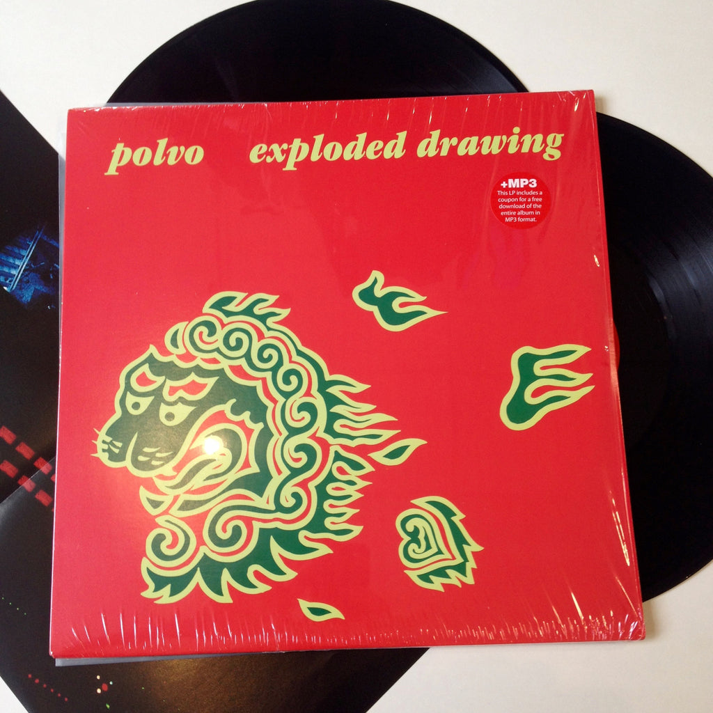 Polvo: Exploded Drawing 12""